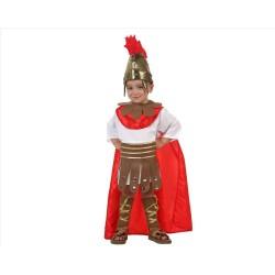 Atosa centurione romano costume bambino da soldato antica Roma taglia 10/12 anni