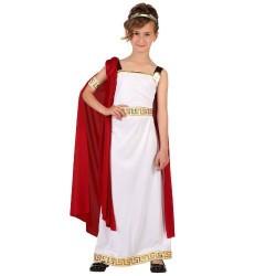 Costume da Romana imperatrice taglia 5/6 anni