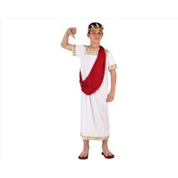 Costume da imperatore romano bambino 10/12 anni