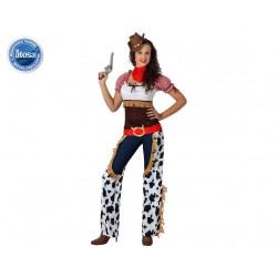 COSTUME COW GIRL DONNA TAGLIA XL