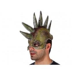 Maschera con punte da uomo mostro Halloween carnevale