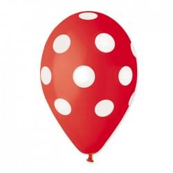 Palloncini pois rossi compleanno laurea festa
