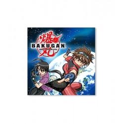 Tovaglioli Bakugan in carta 20 pezzi cm 33x33