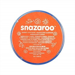 Snazaroo colori truccabimbi  per il viso arancio make up face paint carnevale