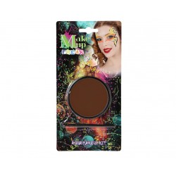 TRUCCO MAKE UP MARRONE FACE PAINTING 10 GR HALLOWEEN CARNEVALE