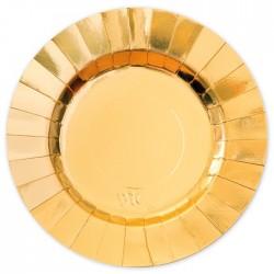 Piatti oro coordinato tavola diam 30 cm