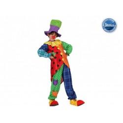 Costume Pagliaccio clown Bambino 7/9 anni