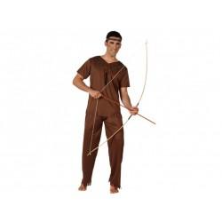 Costume da indiano uomo  pellerossa taglia M/L