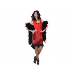 Costume cabaret charlestone donna taglia M/L Atosa
