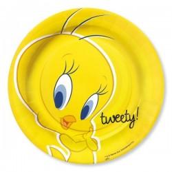 Piatti Titi Tweety in carta coordinato tavola