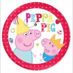PIATTI PEPPA PIG IN CARTA CM 18 FESTE E PARTY
