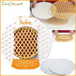Tagliapasta crostata griglia per decorazione dolci
