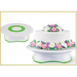 Base per torta rotante alzata girevole cake design