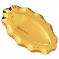 Piatto Raviera oro 3 pezzi