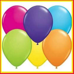 Palloncini 100 PZ compleanno colorati assortiti