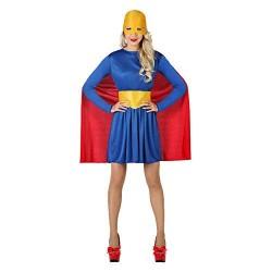 Costume super girl supereroina donna taglia M/L Atosa