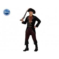 Costume Pirata Caraibi Uomo Carnevale Taglia M/L