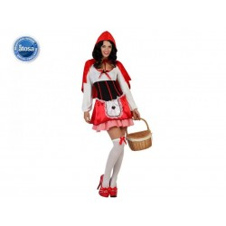 Costume cappuccetto rosso donna taglia XS/S