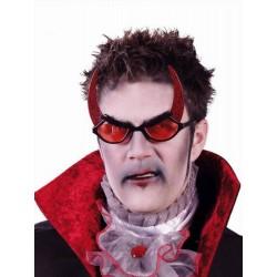 Occhiali da diavolo con corna Halloween