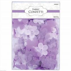 Petali forma fiore e farfalle lilla e bianchi 300 pz
