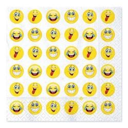 Tovaglioli Emoticons 33x33 20 pezzi