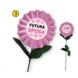 Fiore futura sposa messaggio