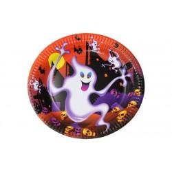 Piatti in carta Halloween cm 23