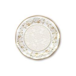 Piatti in carta oro Prestige diam 32 cm