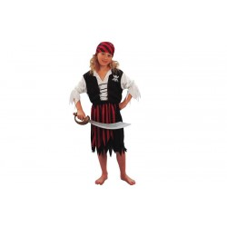 Costume bambina Pirata Piratessa