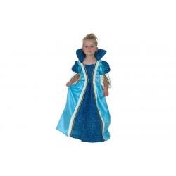 Costume pricipessa azzurroBambina Carnevale