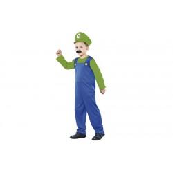 Costume Luigi idraulico bambino