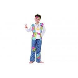 Costume Hippie Figli dei fiori Bambino Carnevale