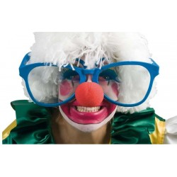 Occhiali Maxi Clown Pagliaccio Jumbo glasses