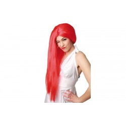 Parrucca rossa donna lunga