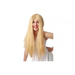 Parrucca bionda donna liscia ale