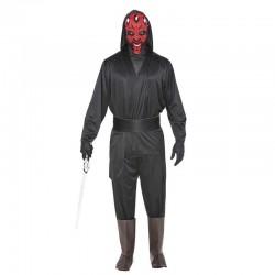 Costume Galattico Spaziale uomo del male Carnevale Adulto travestimento Halloween