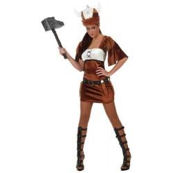 Costume Vichinga donna taglia XL Atosa