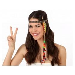 Fascia per Cappelli Hippie Donna Carnevale