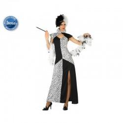 Costume Donna Crudele Malvagia Carnevale Taglia XS/S