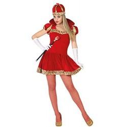 Costume regina di cuori donna taglia XL