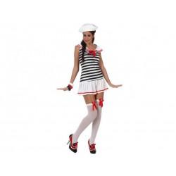 Costume Marinaia Sexy Donna Taglia M/L Carnevale