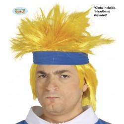 Parrucca ninja spaziale bionda