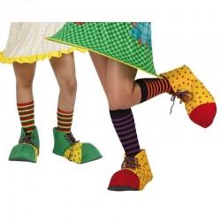 Scarpe Pagliaccio Clown Carnevale cm 31