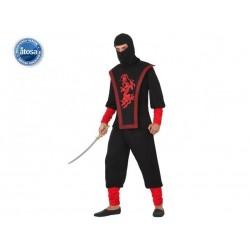 Costume ninja uomo taglia M/L
