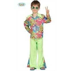 Costume Hippie Bambino 5/6 anni carnevale