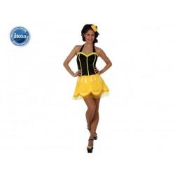 Costume Frutta Limone Donna Carnevale Tagllia M/L
