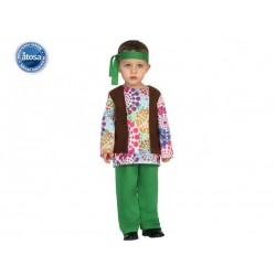 Costume Hippie Bimbo12/24 mesi Carnevale