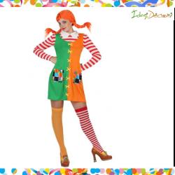Costume Bambina Monella calze lunghe Pip vestito