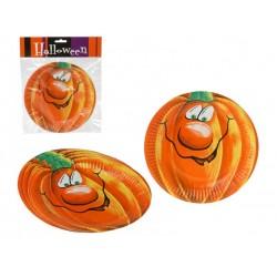 Piatti Zucca Halloween 6 pz