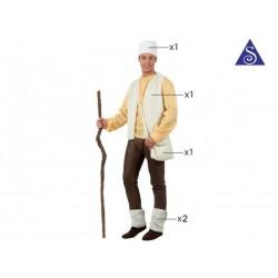 Costume pastore adulto uomo taglia M/L